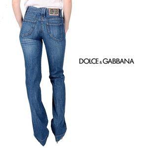 NWT Dolce & Gabbana Stone Wash Straight Jean